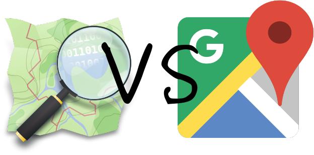 OpenStreetMap vs Google Maps