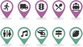 Map Marker Icon content